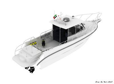 Dalış Teknesi tasarımı