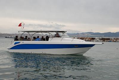 özel dalış teknesi